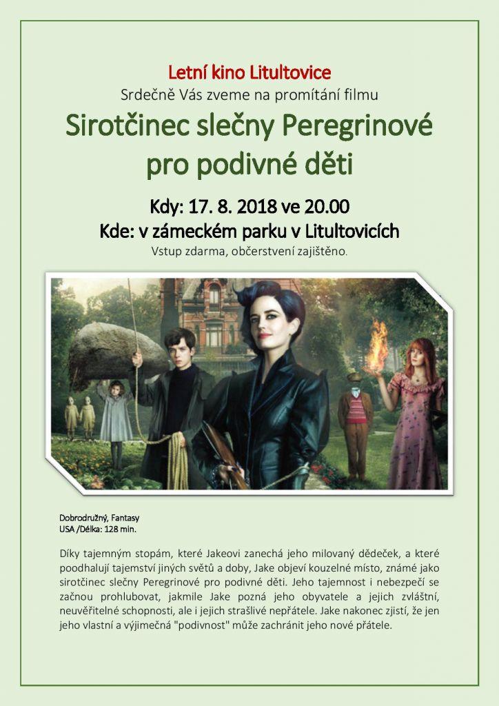 Plakát Sirotčinec slečny Peregrinové pro podivné děti