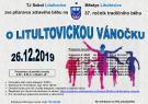 37. ročník tradičního běhu o LITULTOVICKOU VÁNOČKU